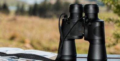 Prismáticos con medidor de distancia