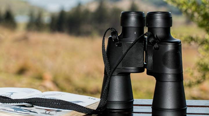 prismaticos medidor de distancia
